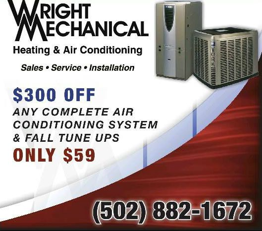 Wright Mechanical Services inc. coupon