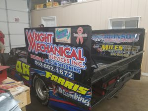 Wright race car